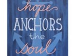 Adult Canvas Night June 18th Anchors Away