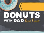 Donuts with Dad at Color Me Mine - Geneva - June 17th