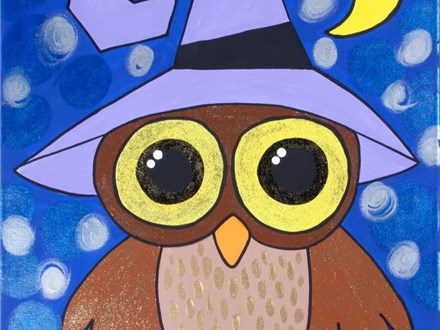Canvas Painting Class - Monday, October 12th  or Friday, October 16th 3:30pm-5:30pm