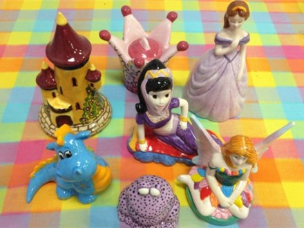 Here are a few of the Princess related items we will have for this popular Kamp!