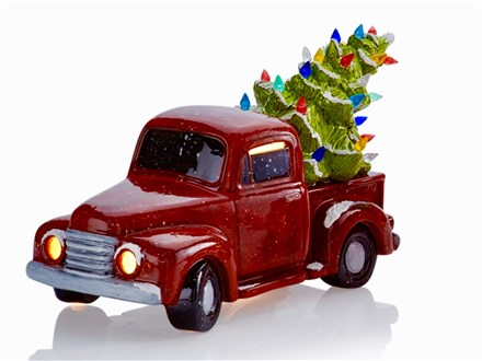 Reserve your Vintage Truck with Tree includes light kit (10 available)