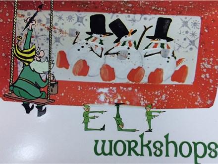 Elf Workshop - Fused Glass Ornament Class