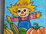 KIDS'S SCARECROW CANVAS CLASS
