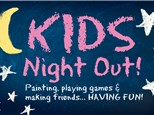 Kid's Night Out - Back to School Desk Set - September 21st