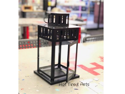 Fused Glass Lantern Party