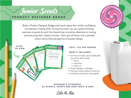 Junior Scouts BADGE Package