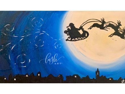 Santa's Sleigh Paint Class