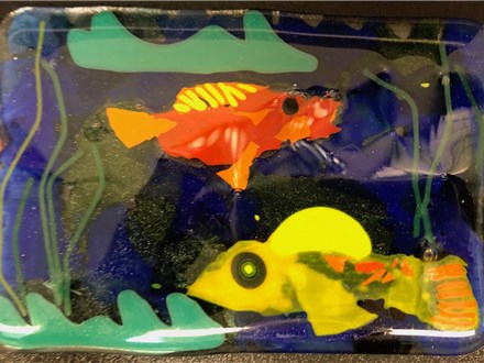 Make a Butter or Soap Dish! Glass Fusing Workshop at 4th Street Fine Art - Wednesday June 19, 7p-9p