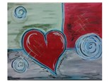 Patchwork Heart - Paint & Sip - May 6