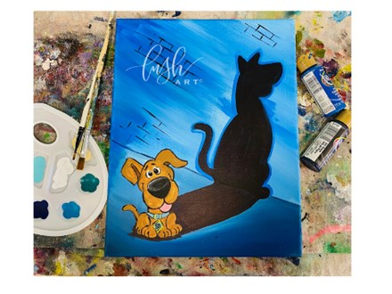 Scooby Inspired Paint Class