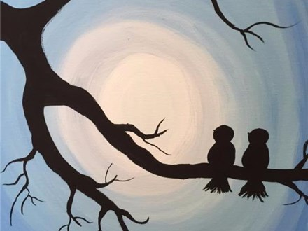 Canvas Painting - Community Groups and other Large Groups (10 people and up) All Ages