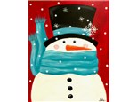 Snowman 'Sno Cold' (16x20 canvas)