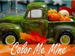 Fall Vintage Truck - Workshop, Sunday October 24th @ 11AM and Wednesday the 27th @ 5pm!