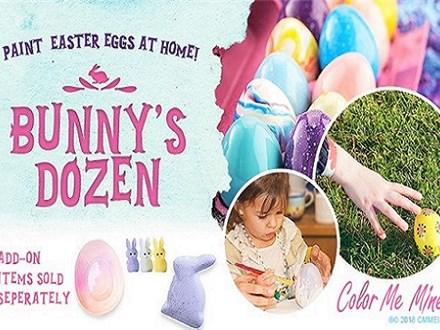 Bunny's Dozen Take Home Kit- Easter Eggs