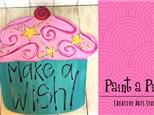 Kids Door Hanger Painting Party - see pricing below