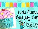 Kids Door Hanger Painting Party - see pricing below