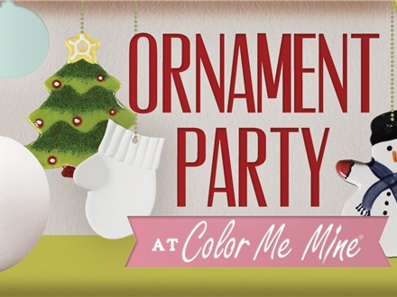 Kids Day Out - Ornament Painting Party! - Nov. 26