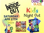 Ticket for Crazy Glaze Studio's Kids Night Out Apr 27th