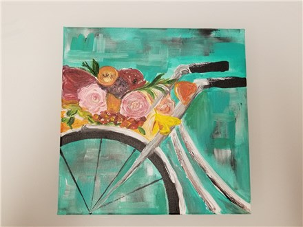 Spring Ride Canvas Class (adult) $35
