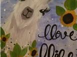 Paint Your Own Canvas Pack - Llove Llife