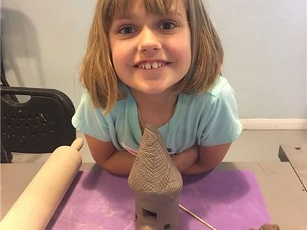 Clay Fairy House Workshop! April 28, 2018