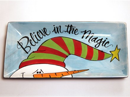 Paint Wine and Dine - December - Believe in the Magic