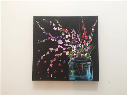 REPEAT Blossom Bouquet (adult) Canvas Class
