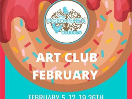 February ART CLUB 4 Weeks