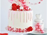 Parent/Child Valentine Drip Cake Class