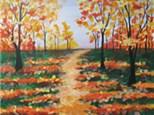 """Autumn Path"" Canvas Class, September 26th"