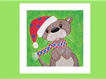 Kids Canvas - Winter Otter - Friday, December 14