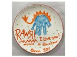 Mommy/Daddy & Me - Dino Plate 07/25