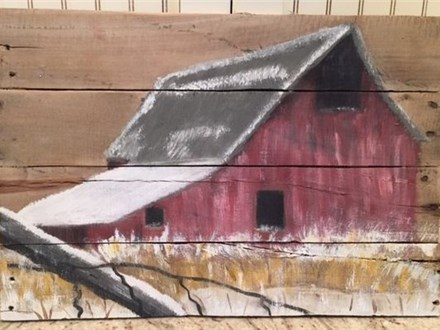 Barn Pallet Paint Night - 8/13
