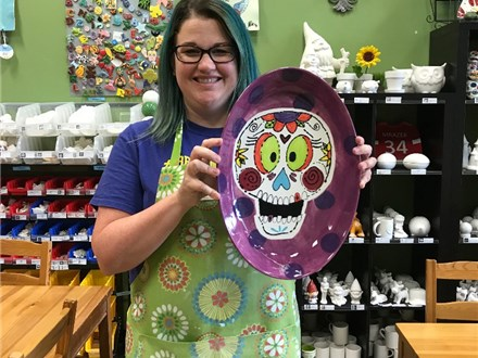 Happy Sugar Skull Monthly Masterpiece