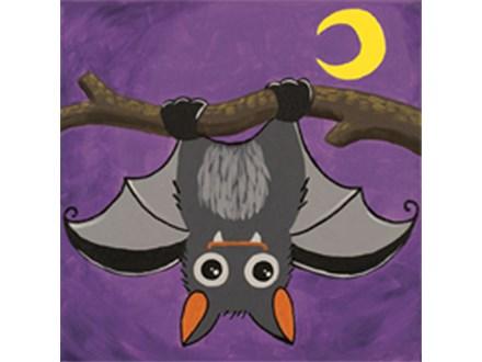 Kid's Canvas - Little Bat - Afternoon Class - 10.25.17