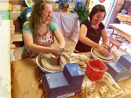 Pottery Wheel Workshop - Evening Session - 11.08.18