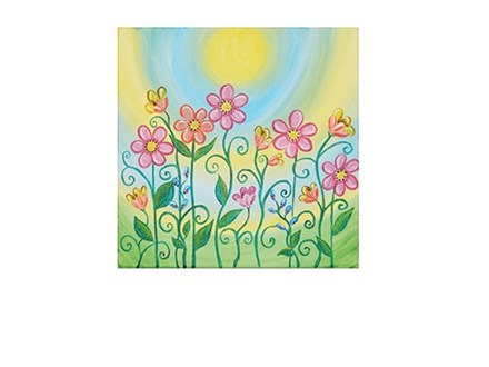 Spring Blooms - Canvas - Paint and Sip