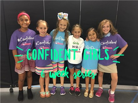 LITHIA (K-5th): CONFIDENT GIRLS- 6 Week Series- Sept. 24th-Oct. 29th, 2019