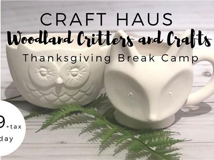 Thanksgiving Break Camp: November 21st