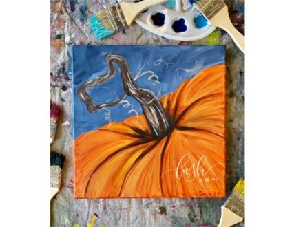 Pumpkin Paint Class
