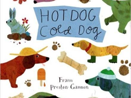 Story Time Art - Hot Dog Cold Dog - 03.20.17 - Morning Session