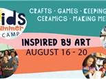 Summer Camp: Inspired by Art Week - August 16-20