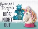 Kids' Night Out: Unicorns & Dragons - September 28 @ 6pm