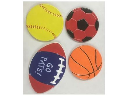Sport Coasters Kids Ceramic - 09/17