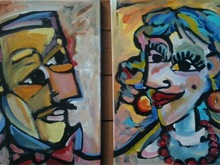 Picasso Couple