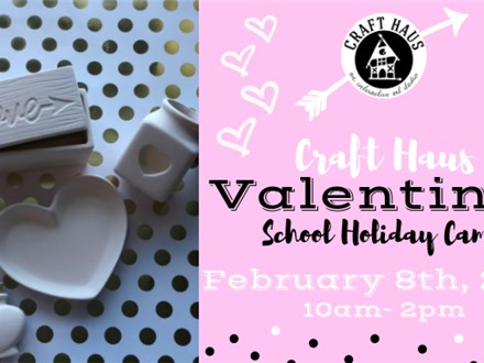 School Holiday Camp: Valentine's Day Themed!