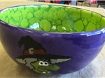 Family Pottery - Halloween Bowls - 10.07.18