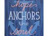 Adult Canvas Night April 24th-Anchor's Away