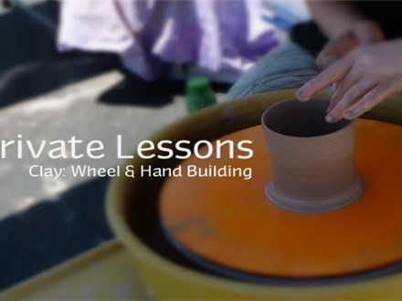 Clay Private Lesson: Wheel or Hand Building
