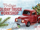 Vintage Truck & Tree Painting - Nov. 06/19